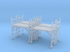 Scaffold 01. HO Scale (1:87) 3d printed