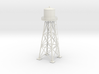 Water tower 01. HO Scale (1:87) 3d printed