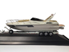 1/87 Myco Trailer 3-axle speedboat-trailer 3d printed SHARKY in 1/87 on Myco (for sale)