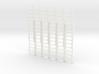 Ladder 02. O Scale (1:43) 3d printed