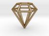 Pendant 'Diamond 3D' 3d printed