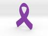 Awareness Ribbon Keychain 3d printed