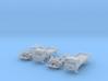 SET 2x Club-of-4 lorries (British N 1:148) 3d printed