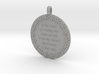 In The Hopes Of Reaching | Jewelry Quote Necklace 3d printed
