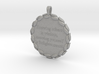 Knowing Others Is Wisdom | Jewelry Quote Necklace. 3d printed