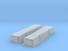 1/20 SBC Smooth Valve Covers 3d printed