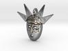 venetian carnival mask pendant 3d printed