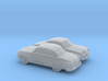 1/160 2X 1950 Ford Fordor Coupe 3d printed