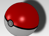 Real size openable Pokeball 3d printed Real size pokeball