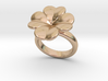 Lucky Ring 17 - Italian Size 17 3d printed
