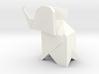 Origami Elephant 3d printed