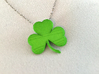Customizable Shamrock Pendant 3d printed