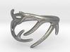 Antler Ring No.2 (Size 11) 3d printed