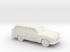 1/87 1950 Ford Fordor Station Wagon 3d printed