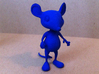 Tiny Mouse  3d printed Royal Blue Strong, Flexible & Polished