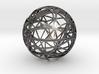 Craters of Ganymede Desk Sculpture 3d printed