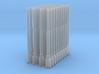 1:87 1584 BVL-mast met KIR KIK sokkel dubbel (40x) 3d printed