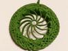 Celtic Border Knot Pendant 3d printed