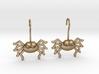 Cute Spider Earrings 3d printed
