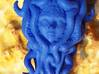 SquidsEmbracePendant 3d printed Printed in Royal Blue! Happy to see one swimming in the world.