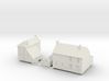 1:350-French Houses X2 3d printed