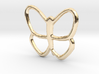 Butterfly Pendant - 22mm 3d printed