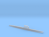 Zulu-class submarine, 1/2400 3d printed