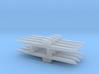 Zulu-class submarine x 8, 1/2400 3d printed
