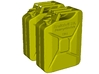 1/9 scale WWII Wehrmacht 20 lt fuel canisters x 2 3d printed