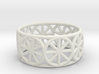 Dharma Wheel Ring 3d printed