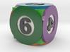 d6 Billiard (pool ball die) 3d printed