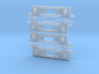Ho-scale Whitcomb 65 Ton Truck Sideframes 3d printed