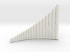 Ultra-lite Alto Panpipes G1-G4, Left-handed 3d printed
