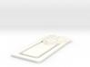 MGHS 3D Bookmark 3d printed