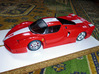 Slot car chassis for FXX 1/28 3d printed