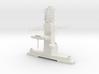 1/96 : 1/100 scale Type 23 British Navy Main Mast 3d printed