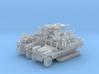 Sd.Kfz 10/5 FLAK 38 (2 pack) HO 3d printed