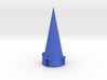 Roof 120mm hight & conical with 4 windows 3d printed