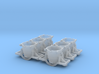 Iron Ladle Car - Set of 6 - Zscale 3d printed