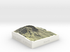 Mt. St. Helens, Wash., USA, 1:250000 Explorer 3d printed