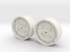 1/64 8000/9000/8600/9600 Ford Tractor wheels 3d printed