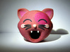 Funny Cat Head 50mm 3d printed