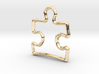 Puzzle Pendant/Charm - 16mm 3d printed