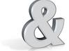 Ceramic Ampersand 3d printed
