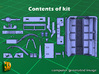 M5 Halftrack conversion with M5A1 Lights 3d printed M5 with M5A1 lights - parts