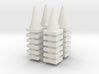 Road Cone Stack (4Pack) 1-87 HO Scale 3d printed