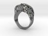 The Original Jawless Skull Ring 3d printed