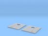 N Scale GP9B/GP7B Hood Section  3d printed