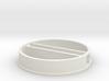 'N Scale' - 48' Diameter Bin - Foundation w/ Tunne 3d printed
