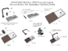 HO PRR Plan 61140-A FILL PIPE AND BASIN KIT  3d printed Instructions for Fill Pipe & Basin